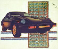 Original Datsun 280 ZX  Iron On Transfer Glitter