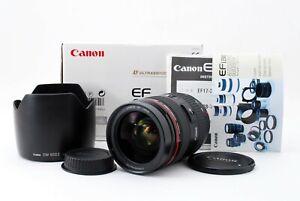 READ Canon EF 28-70mm f2.8 L USM Macro Zoom Lens w/Hood A805584
