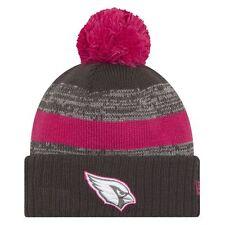 New Era Breast Cancer Awareness 2016 Arizona Cardinals NFL Sport Knit Pom Hat
