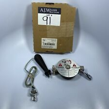 """Lufkin Atlas Double Duty Oil Gaging Tape CN1290S F/590 Chrome Clad 1/2"""" x 25'"""