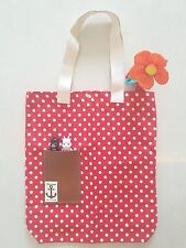 Brand New Hand Made Minnie White Polka Dots Shoulder Bag