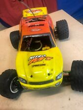 Vintage Hpi Nitro Mt Remote Rc 4x4 Released Before the Savage.