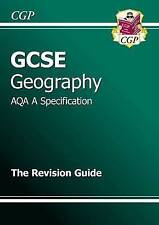 GCSE Geography AQA A Revision Guide (A*-G Course) by CGP Books (Paperback, 2009)