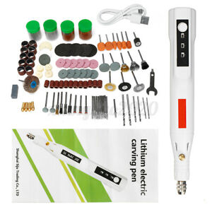 161PCS USB Mini Electric Grinder Drill Engraving Pen Grinding Rotary Tool Set