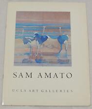 Sam Amato UCLA Art Galleries Ephemera Catalog 1968 Softcover