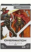 """NEW HASBRO OVERWATCH ULTIMATES McCREE 6"""" COLLECTIBLE ACTION FIGURE 2019 BLIZZARD"""