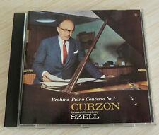 CD CLASSIQUE BRAHMS PIANO CONCERTO N°1 CLIFFORD CURZON LONDON SYMPHONY SZELL