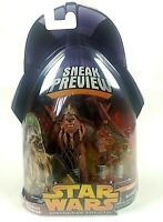 Wookie Warrior Action Figure Hasbro Star Wars Revenge Of The Sith Sneak Preview