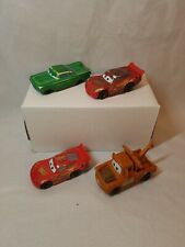 Lot of 4  Disney Cars McDonald's Happy Meal cars lot C