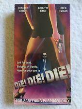 Die! Die! Die! (NEW SEALED VHS) SCREENER COPY! EXTREMELY RARE! Richard Grieco