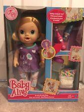 Hasbro Baby Alive Brushy Brushy Baby Doll - Blonde New in Box