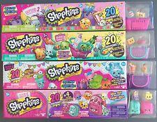 SHOPKINS Season 2 3 4 5 MEGA PACK 1 of Each (Total of 80 Shopkins) 20 pack