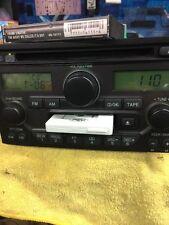 03 04 05 HONDA Pilot Radio Stereo Receiver Tape Cassette CD Player 2003 - 2005