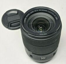 Canon EF-S 18-135mm f/3.5-5.6 IS USM Zoom Lens - Nice!