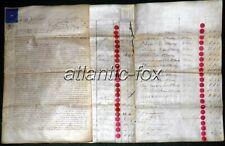 1858 DARWEN Lancashire Stafford & Standing PAPER MILLS Debts Assignments