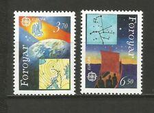 EUROPA CEPT 1991 Foroyar îles de Féroé 2 timbres neufs MNH /TR1687