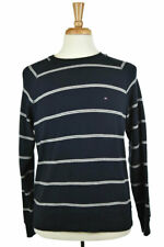 Tommy Hilfiger Men Sweaters Pullovers MED Blue Cotton