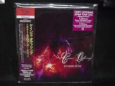 CAIN'S OFFERING Stormcrow + 4 SHM JAPAN TOUR EDITION 2016 CD Stratovarius Sonat