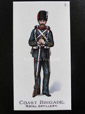 No.2 COAST BRIGADE ROYAL ARTILLERY Types of the British Army REPRO Gallaher 1898