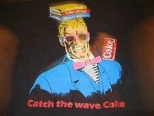 MAX HEADROOM VINTAGE COKE PROMO TEE SHIRT 80S SCREEN STARS TAG LARGE SOFT