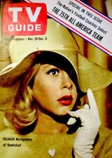 TV Guide 1964 Bewitched Elizabeth Montgomery Lauren Bacall EX/NM COA Rare