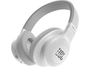 Auriculares inalámbricos - JBL E55BT, Bluetooth, Micrófono, Blanco