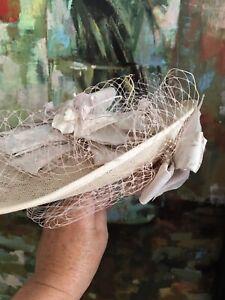 Wedding facinator hat And Handbag