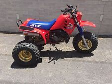 1986 HONDA 250R ATC RECONDITIONED ORIGINAL SURVIVOR 250R THREE-WHEELER $1 N.R.!