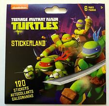 120 Teenage Mutant Ninja Turtle TMNT Stickers  Party Favors Teacher Supply