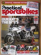Practical Sportsbikes November 2017 Suzuki Katana Ducati 748 Kawasaki Z650 RG500