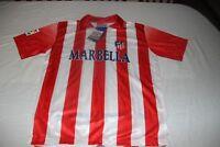CAMISETA OFICIAL VINTAGE ATLETICO MADRID BROKAL TALLA 12 PUBLICIDAD MARBELLA