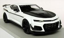 LS Collectibles 1/18 Scale Camaro ZL1 1LE Hennessy Exorcist Wht Resin Model Car