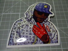 RED GLOVE BLUE HAT GUY  GLOSSY Sticker Skateboard/phone Bombit NEW