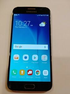 Samsung Galaxy S6 SM-G920 - 32 GB - Blue Verizon Smartphone. Used
