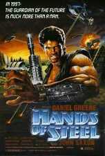 Hands Of Steel Poster 01 Metal Sign A4 12x8 Aluminium