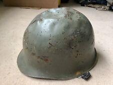 More details for original falklands war trophy take home ww2 us helmet