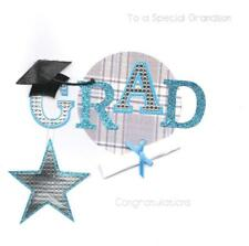 Grandson Graduation Keepsake Card Luxury Handmade Square Greeting Cards
