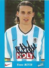 Remo Meyer - 1860 München - Saison 2002/2003 - Autogrammkarte