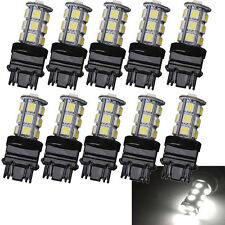 10-Pack 3157 White 18SMD 5050 Reverse Brake/Stop/Turn Tail Back Up LED Bulb Sale