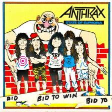 Anthrax Group Art Full Color Sticker Scott Ian Very Cool