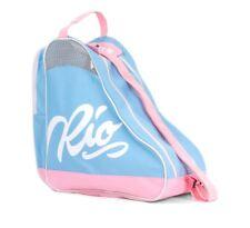 Rio roller inscription Skate Sac - Bleu/Rose