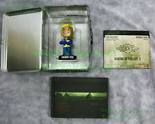 Fallout 3 Collector's Edition NO GAME Lunch Box Bobblehead Making DVD Art Book
