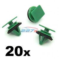 20x carte porte Sill plaque coup de pied /& couverture trim clips pour Rover 200 25 45 75 MG ZT ZS