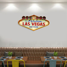 Welcome To Las Vegas Welcome Neon Sign Lamp Led Light Vintage Cafe Bar Pub