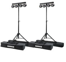 2 x Equinox MicroPar Bar System LED Par Can Lighting DJ Disco DMX Light Effect