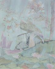 "ANTON (Toni) KRAJNC ""Spiral Staircase"" HAND SIGNED LITHOGRAPH Austrian/US Artist"