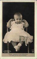 Adel Monarchie Prins Hubertus Preussen Finger im Ohr AK um 1910 alte Postkarte