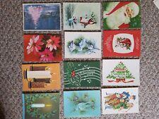 Vintage christmas greeting cards lot