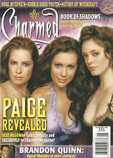 Charmed Magazine 10 Paige Revealed NM Rose McGowan Book of Shadows Brandon Quinn