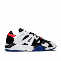 Mens adidas Originals Dimension Lo Top Trainers In Core Black / Active Blue /